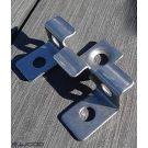 ACCESSOIRES TERRASSE COMPOSITE ALVEOLAIRE CLIPS INOX - BOITE DE 200 CLIPS + VIS 15*30*10