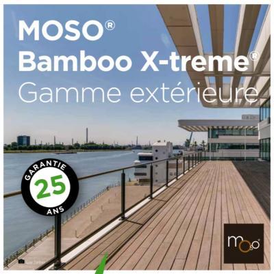 Moso® bamboo thermo - alternative écologique aux bois tropicaux
